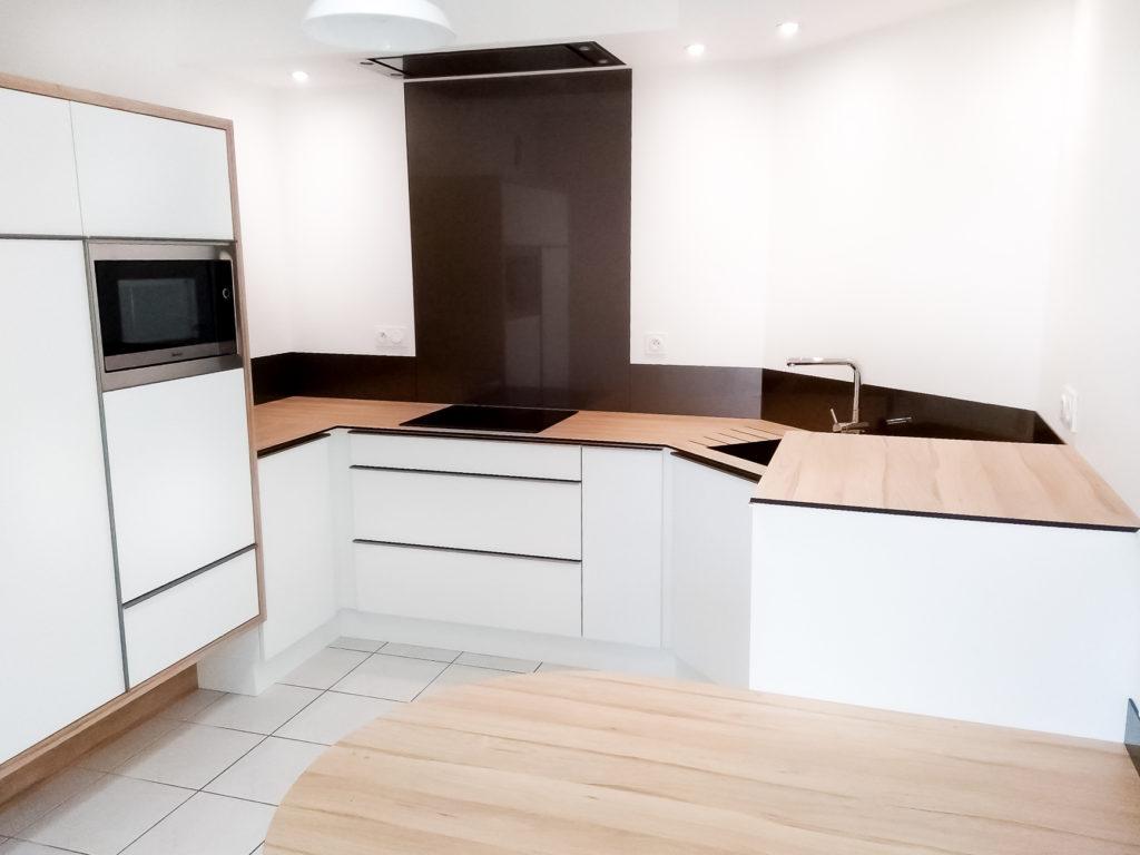 Zoom sur l'espace cuisine